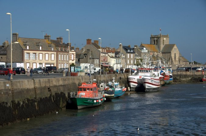 Barfleur Harbour, France Normandie