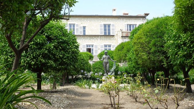 Renoir's house in Cagnes sur Mer