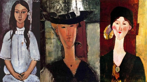 Amedeo Modigliani paintings - Portraits