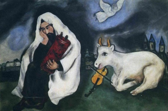 Marc Chagall Painting Entitled: Solitude 1933