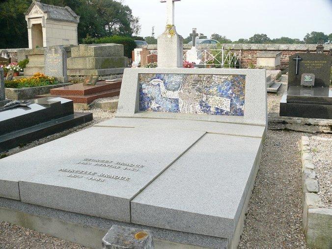 Georges Braque , Grave Tomb Cimetière marin de Varengeville-sur-Mer