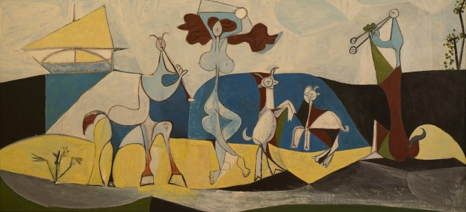 Pablo picasso famous paintings - cubism / surrealism style