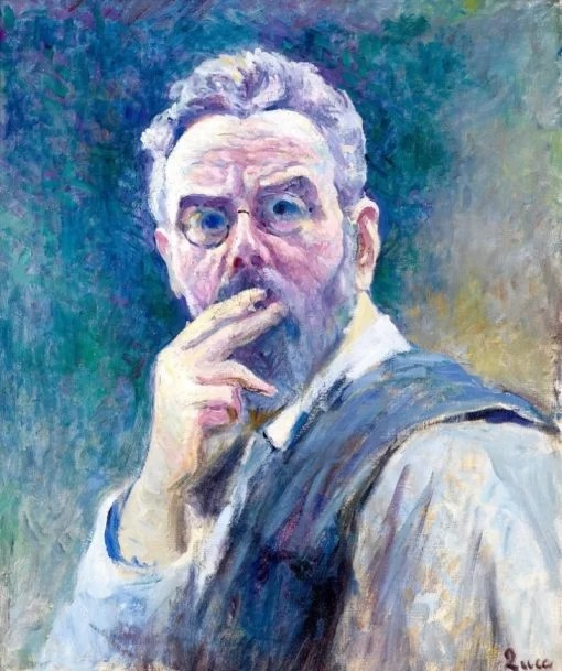 Maximilien Luce  - self portrait