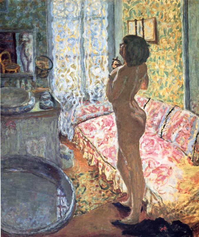 Pierre Bonnard Painting - nude woman