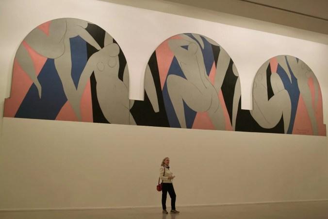 La Danse inachevée - Henri Matisse painting