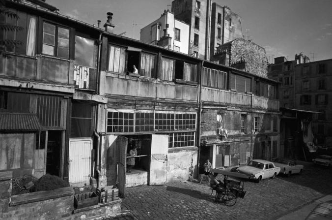 The Le Bateau-Lavoir, Montmartre