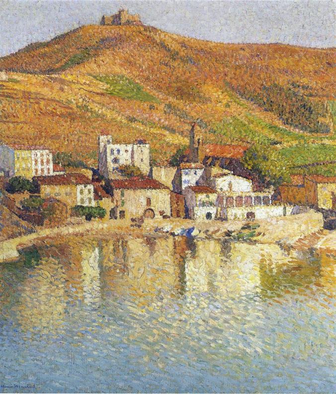 neoimpressionism - Henri Martin Painting