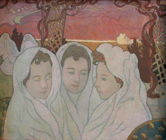 Triple Portrait of Marthe - Maurice Denis painting