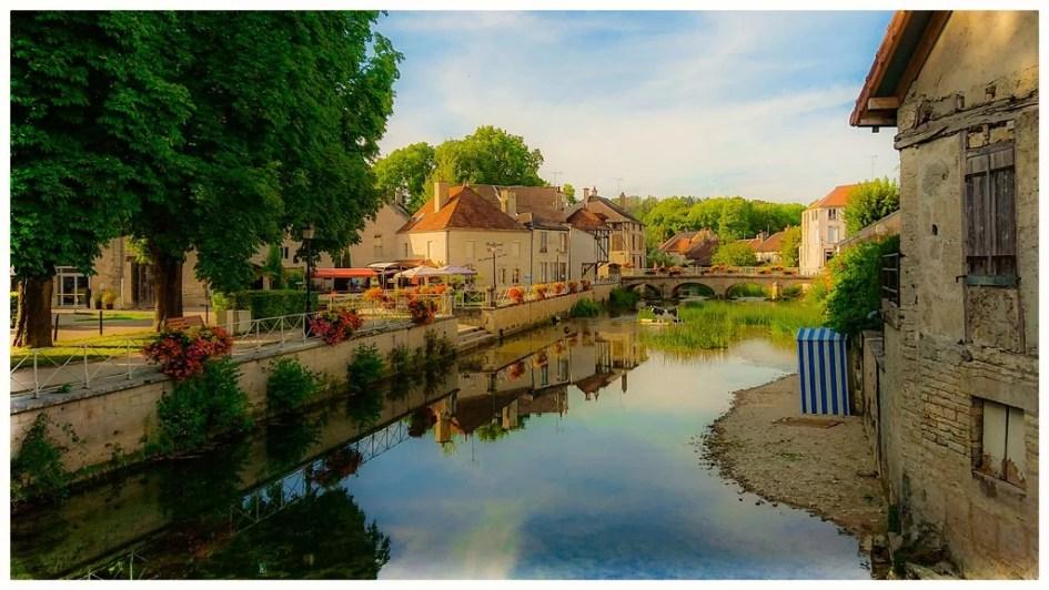 Photo of Essoyes. Aube. Champagne. France