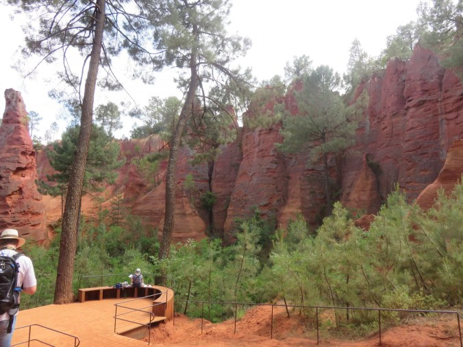 The Ochre Quarries of Roussillon Provence