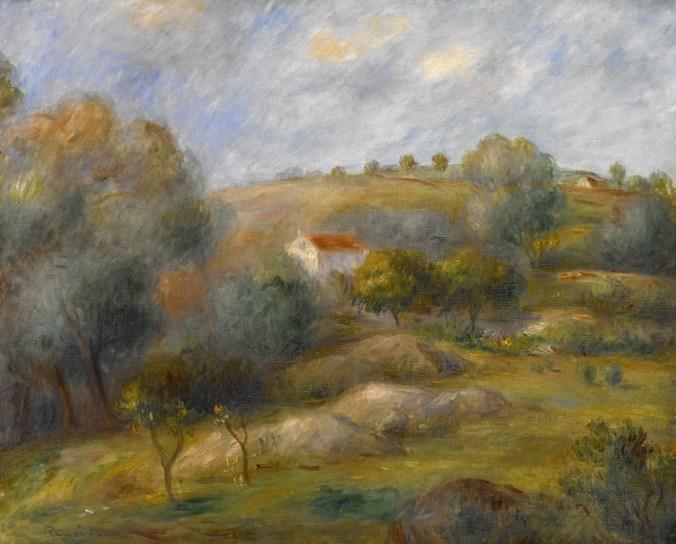 Springtime in Essoyes - Renoir landscape