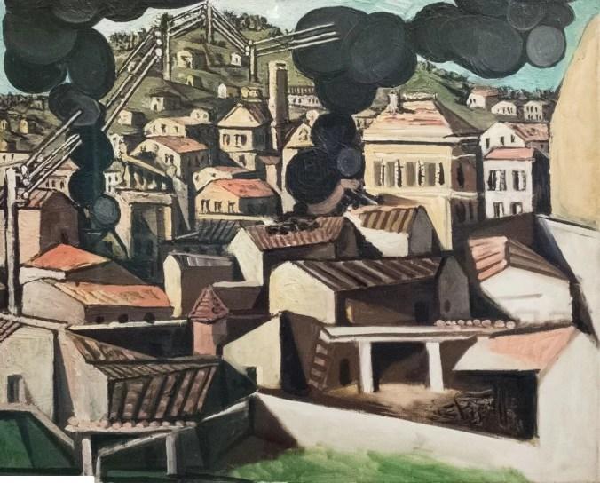 Vallauris - Pablo Picasso landscape painting
