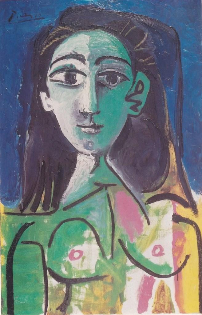 Jacqueline Picasso portrait by Pablo Picasso