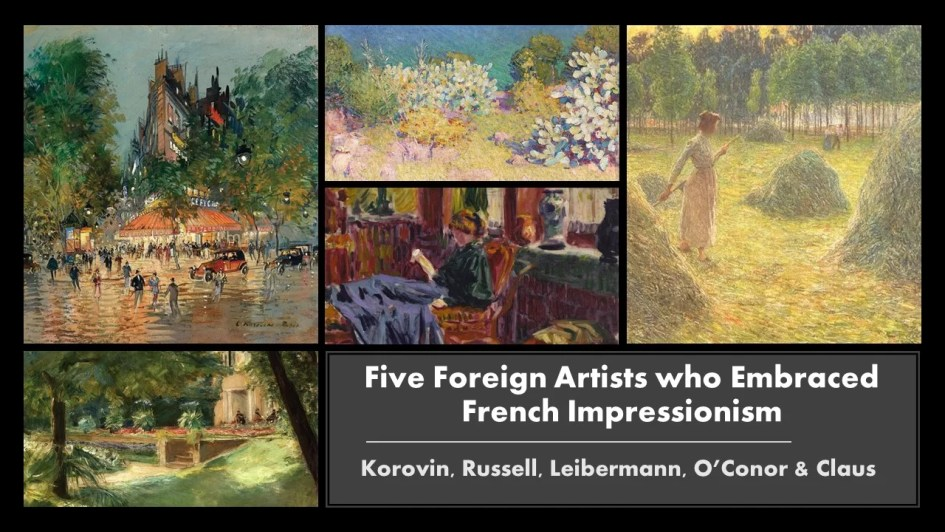 Foreign artists & French Impressionism Art