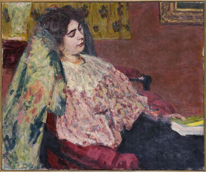 Roderic O'Conor of a woman resting