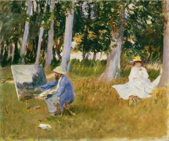 Painting by one of the Americans in France - John Singer Sargent