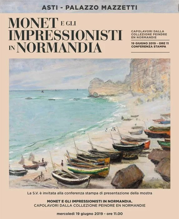 Exhibition: Monet and the Impressionists in Normandy