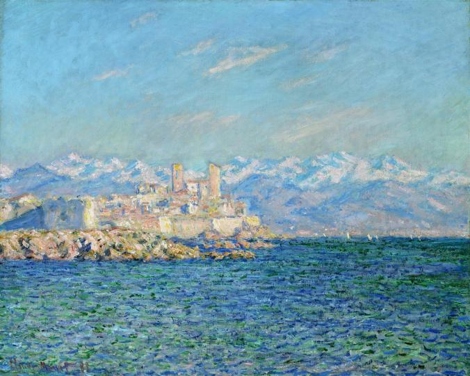 Antibes, Southern France - Claude Monet Impressionism Painting