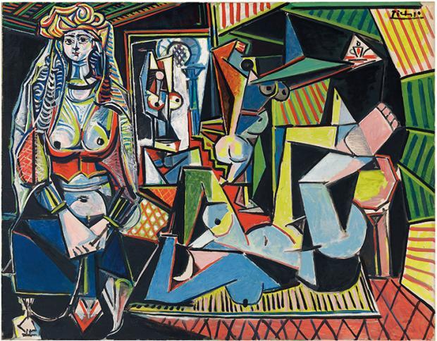 Pablo Picasso Painting entitled: Femmes d'Alger