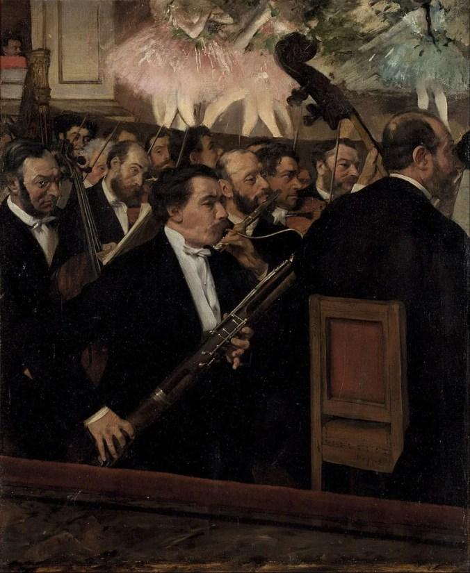 The Paris Opera Ballet - Edgar Degas Painting
