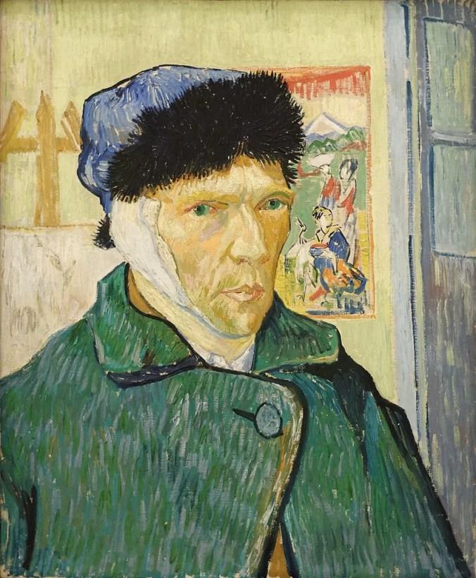 Vincent Van Gogh Self Portrait with Bandaged Ear