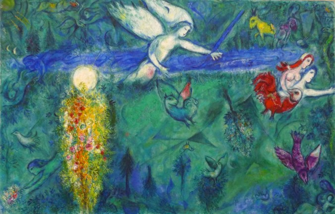 Marc Chagall Painting from the Biblical Series