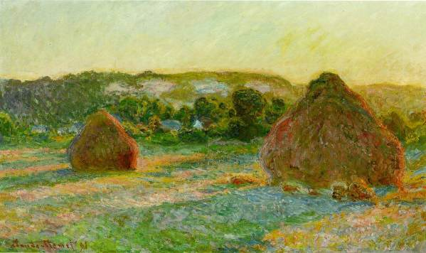 Claude Monet Prints of Haystacks Series