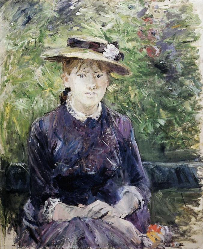 Berthe Morisot Impressionism artwork of Paule Gobillard, 1884