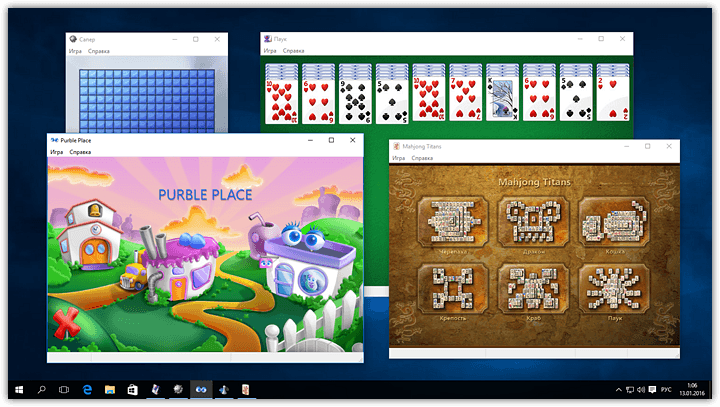 Chess, Minesweeper, Solitaire and other Windows 7 games for Windows 10 (18)