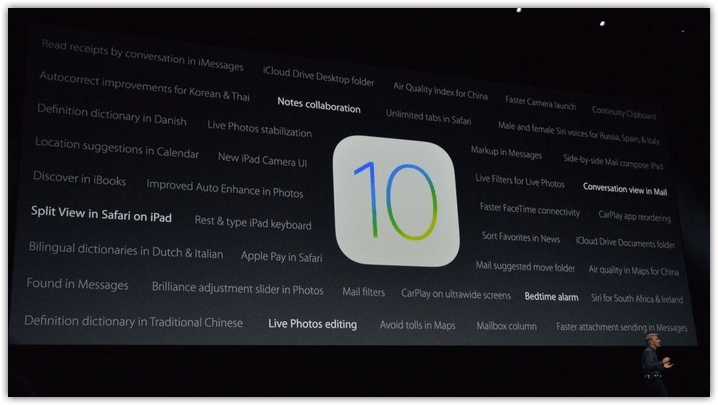 Apple iOS 10 What's New