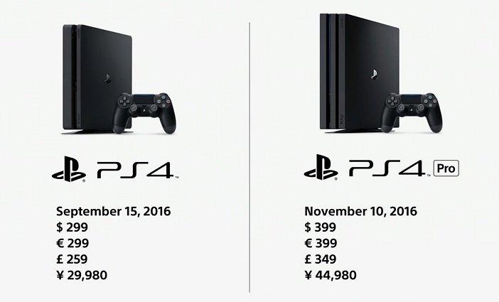 PS4 Slim и PS4 Pro