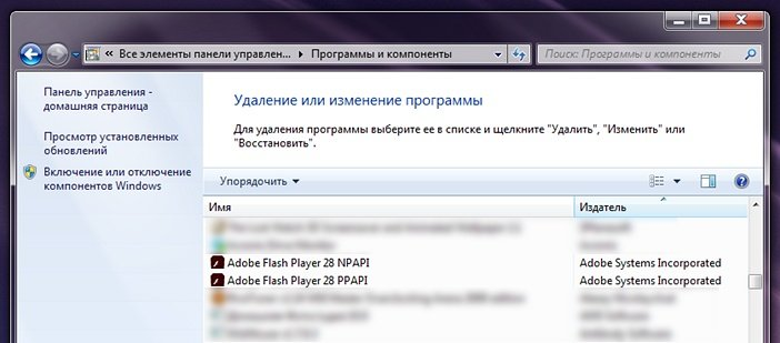 Adobe Flash Player NPAPI и PPAPI