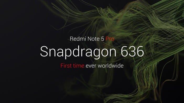 Redmi Note 5 – первый смартфон со Snapdragon 636