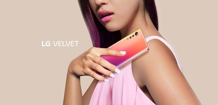 LG Velvet - красивый смартфон со ставкой на дизайн
