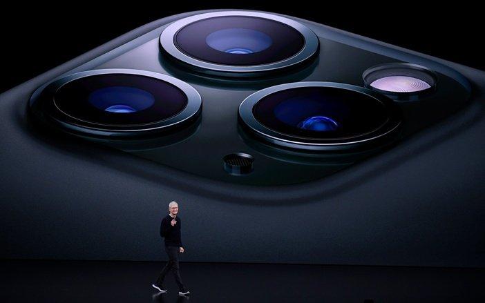 Тройная камера в актуальных моделях iPhone Pro