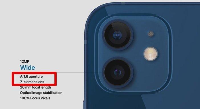Главные отличия камеры iPhone 12 и 12 mini от iPhone 11