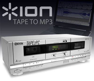 ION USB Cassette Deck