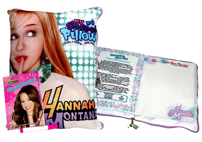 Hanna Montana Pillow
