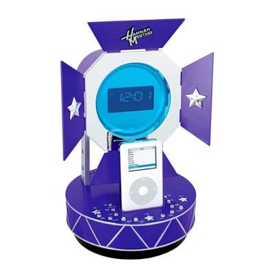 Disney Hannah Montana iPod Alarm Clock Radio