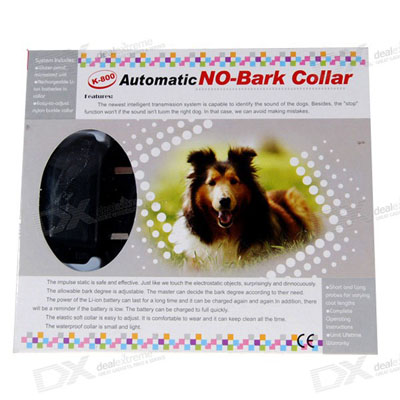 Electronic Shock Bark-Stop Collar
