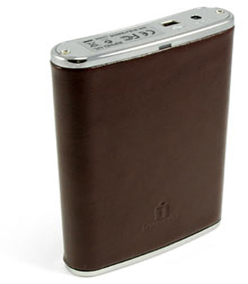 Leather 250GB Hip Flask USB Drive