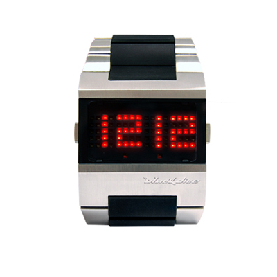 Black Dice Guru LED Watch