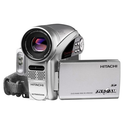 Hitachi DZ-GX5080A 680K DVD Camcorder