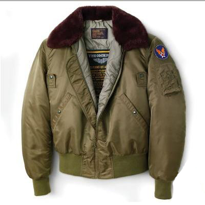 The B15 US Air Force Jacket - The Faithful Replica Worn During Combat Air Patrol Missions