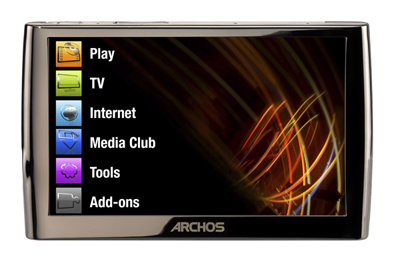 ARCHOS 5 60GB Internet Media Tablet