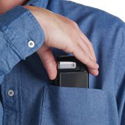 The Shirt Pocket HD Camcorder