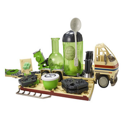 Ben 10 Alien Laboratory Play Set - Is A Uniquely Designed Vehicle Lab For Building Creepy Aliens