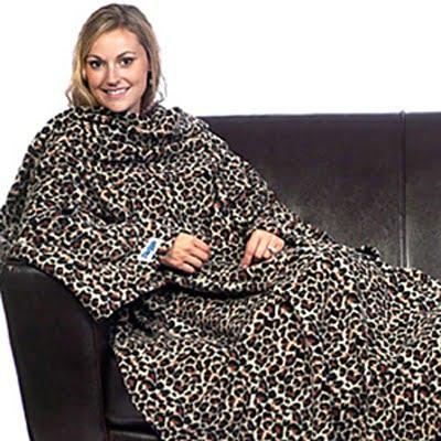 Leopard Print Slanket