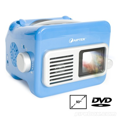 Mobile Cinema DVD Projector