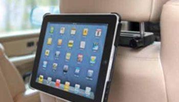 The iPad Car Headrest Cradle